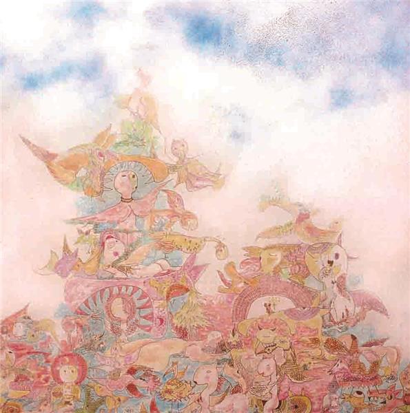 怪鸟之塔与山